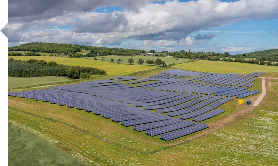 Solar Panel Farm Leicestershire No Complaints Over Solar